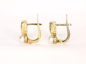 Earrings your and I pray square