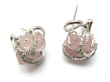 Boucles d\'oreilles or et diamants PE14018484