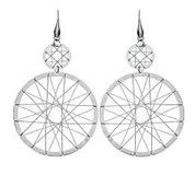 EARRINGS, SILVER, STROILLI 1509971 STROILI