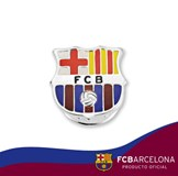 PIN OF STERLING SILVER, FC BARCELONA 10-061