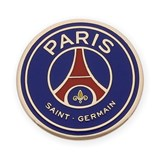 PIN PARIS SAINT GERMAIN ENAMELED AND MADE IN 18KT YELLOW GOLD