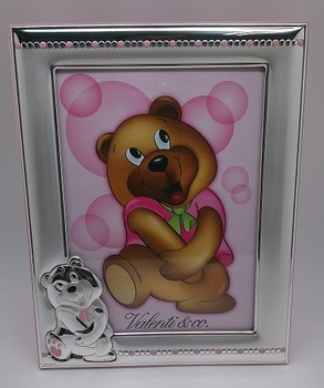 Laminated picture frame sterling silver child