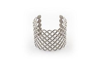 Bracelet acier argent