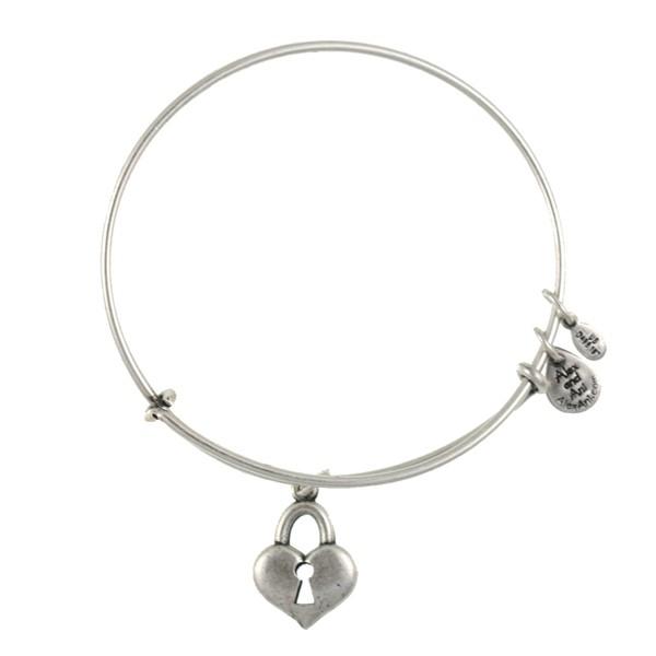 Alex And Ani Positive Energy Bracelet Heart Key Pulsera Llave CorazÓn
