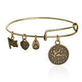 BRACELET ALEX ET ANI OR VIRGO ÉNERGIE POSITIVE VIRGO DORADA Alex And Ani