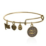 BRACELET ALEX ET ANI OR GEMINI ÉNERGIE POSITIVE GEMINIS DORADA Alex And Ani