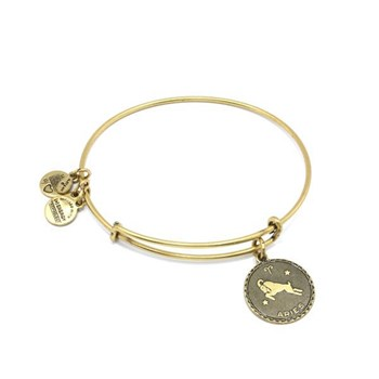 ALEX AND ANI, ENERGY BRACELET POSITIVE GOLDEN ARIES ARIES DORADA