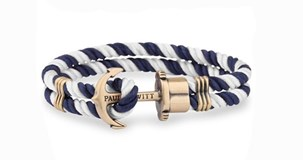 BRACELET ANCHOR PAUL HEWITT BLUE WHITE 11222