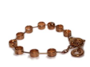 Bracelet pink gold 0038 NUOVEGIOIE