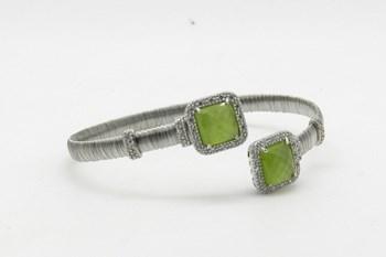 Rhodium Pierre BRGG0114 sterling silver Bracelet manchette