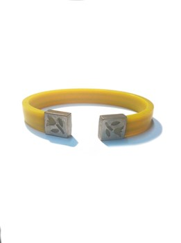 RUBBER BRACELET AND STERLING SILVER GIRL SUNFIELD