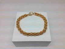 LINEARGENT 12510-GP GOLD PLATED BRACELET