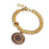 BRACELET GOLD PLATED AND GLASS SRA BIJOUX VICEROY B1067P100-56