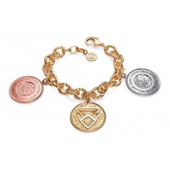 BRACELET PLATED RHODIUM, GOLD AND PINK SRA BIJOUX VICEROY B1062P000-99