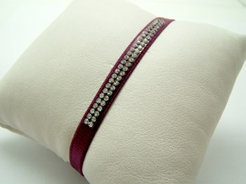 WRIST TAPE FRENCH WITH SWAROVSKI CRYSTAL P-TAPE-L P-cinta-L