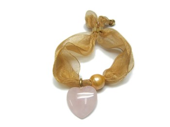 BRACELET QUARTZ AND PEARL