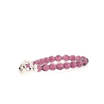 Perles de bracelet violets ZIA401PB Zinzi