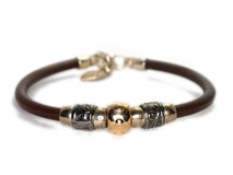 FAT LEATHER BRACELET