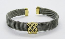 BRACELET STEEL AND GOLD