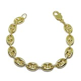 BRACELET CALABROTE ALL OF YELLOW GOLD OF 18K CALABROTES OF 13X8MM AND 20CM LONG NEVER SAY NEVER