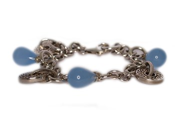 0037 Chalcedonie bracelet NUOVEGIOIE