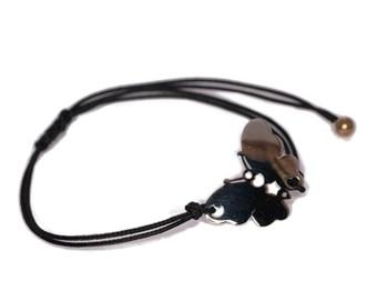 Butterfly 0057B cord bracelet Pasquale Bruni