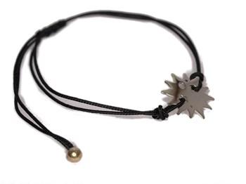 Dentelle avec bracelet soleil argent 0060B Pasquale Bruni