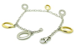 SILVER BRACELET WITH PENDANTS 6