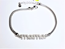 BRACELET SILVER RHODIUM-PLATED BREAST - OWN - PR-BREAST