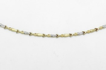 SILVER AND GOLD BRACELET - OWN - 0918430080
