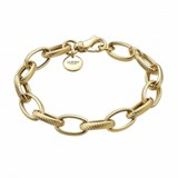 BRACELET LAST IN SILVER WITH BA�OR GOLD 00507220 DURAN EXQUSE