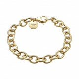 BRACELET LAST A SILVER WITH BA�OR GOLD 00507217 DURAN EXQUSE