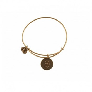 BRACELET EN LETTRE D OR A08EB91DG ALEX ET ANI 886787003072 Alex And Ani