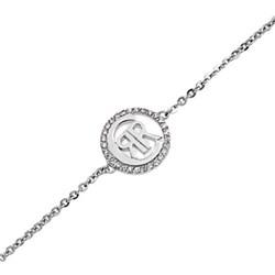 Pulsera logo plata R52060Z Cerruti 1881