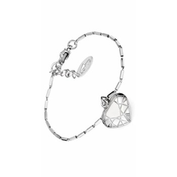 Lotus silver heart bracelet LP1004-2/1