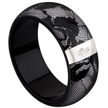 Bracelet Lotus Style noir