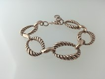 BRACELET LUXENTER METAL BATHROOM GOLD PINK SPBM00900