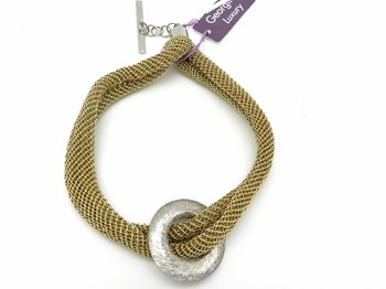 Bracelet mesh Golden