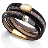 BRACELET METAL SKIN SINT AND GLASS SRA FASHION VICEROY 9019P09010