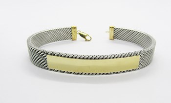 BRACELET MILANESE AND GOLD