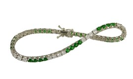BRACELET DEVOUT WOMAN AND LOMBA PDL2703-01GREEN/WHITE 4 8435334800323 DEVOTA & LOMBA