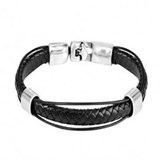 BRACELET BLACK ONE 50 MAN PUL1189 Uno de 50