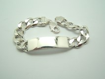 BRACELET FORGET-ME-NOT IN SILVER B-79