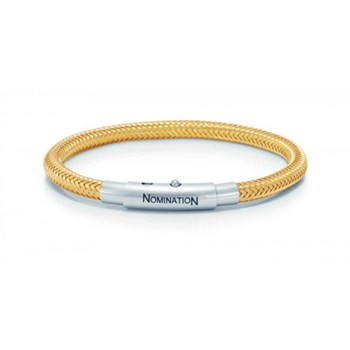 Yellow steel 02301-077179000 Nomination bracelet