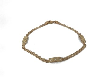 BRACELET YELLOW GOLD 18 CARAT 927764