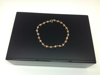 BRACELET GOLD AND SPINEL