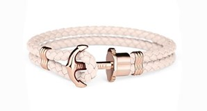 BRACELET PAUL HEWITT ANCRAGE BUBBLE-GUM ROSE 11224