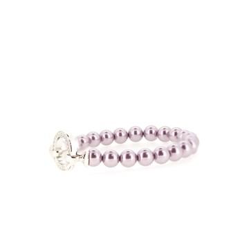 Perles de bracelet roses  ZIA401p Zinzi