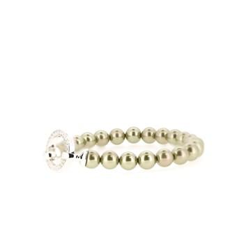 Bracelet de perles vert ZIA401OG Zinzi