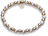 BRACELET SILVER GOLD PLATED SRA JEWELS VICEROY 1174P100-96